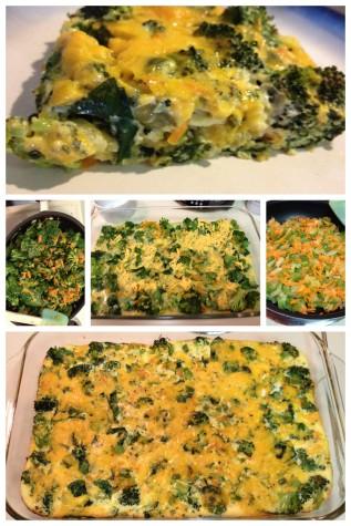 Veggie and Cheese Frittata
